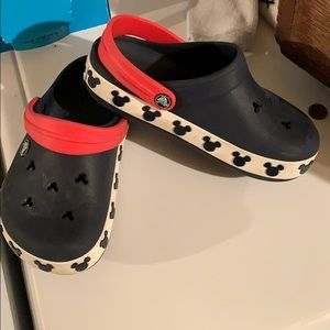 Mickey Mouse Disney Crocs